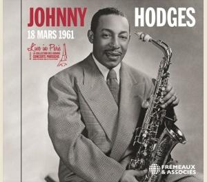 JOHNNY HODGES - LIVE IN PARIS