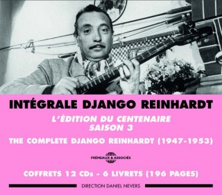COMPLETE DJANGO REINHARDT 3 box sets