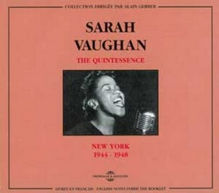 SARAH VAUGHAN - QUINTESSENCE  VOL 1