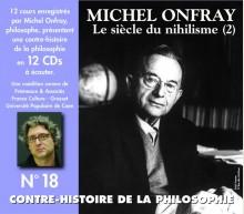 CONTRE HISTOIRE DE LA PHILOSOPHIE VOL 18