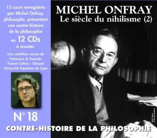 MICHEL ONFRAY - CONTRE HISTOIRE DE LA PHILOSOPHIE VOL 18