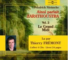 AINSI PARLAIT ZARATHOUSTRA - NIETZSCHE - VOL 2