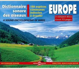 DICTIONNAIRE SONORE DES OISEAUX D'EUROPE