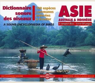 DICTIONNAIRE SONORE DES OISEAUX D'ASIE, AUSTRALIE & INDONESIE