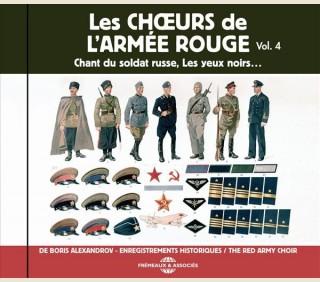 LES CHOEURS DE L'ARMÉE ROUGE DE BORIS ALEXANDROV  - VOL 4