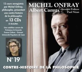 MICHEL ONFRAY - CONTRE HISTOIRE DE LA PHILOSOPHIE VOL 19