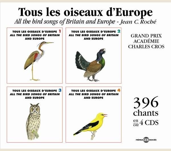 chants d 39 oiseaux tous les oiseaux d 39 europe fa625