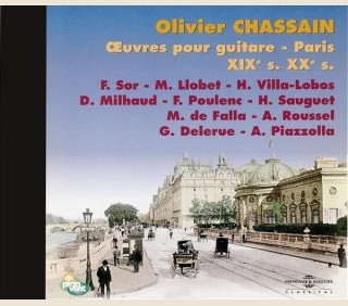 OEUVRES POUR GUITARE - PARIS XIX XXe