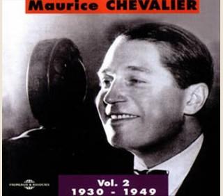 MAURICE CHEVALIER VOL 2 : 1930 - 1949