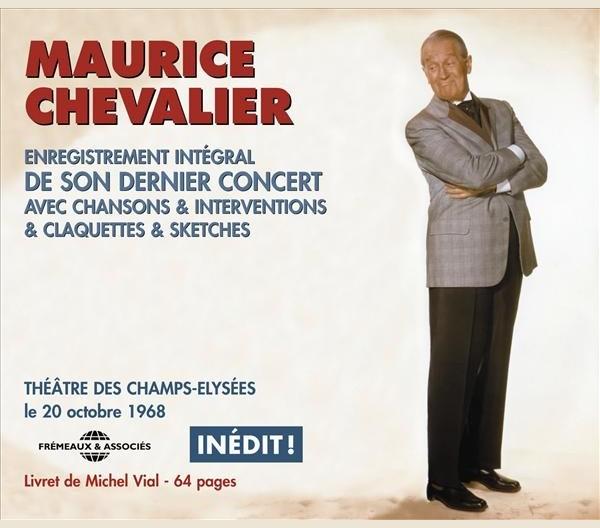 MAURICE CHEVALIER - DERNIER CONCERT INEDIT OCT 1968