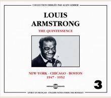 LOUIS ARMSTRONG - QUINTESSENCE VOL 3