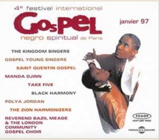 4eme FESTIVAL DE GOSPEL A PARIS 1997 (2 CD)