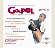 4eme FESTIVAL DE GOSPEL A PARIS 1997 (1 CD)