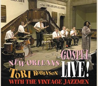 TORI ROBINSON WITH THE VINTAGE JAZZMEN