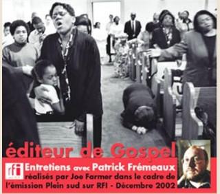 EDITEUR DE GOSPEL (RFI)