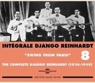 DJANGO REINHARDT - INTEGRALE VOL 8