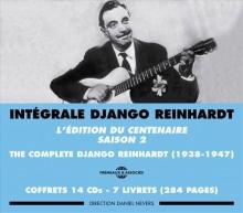 DJANGO REINHARDT - L'EDITION DU CENTENAIRE - SAISON 2