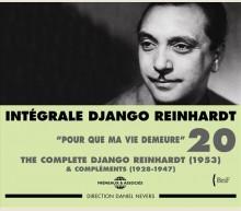 DJANGO REINHARDT - INTEGRALE VOL 20