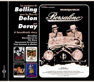 LES MUSIQUES DE BOLLING POUR LES FILMS DE DELON MIS EN SCÈNE PAR DERAY