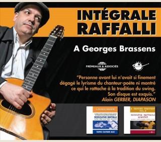 INTEGRALE RODOLPHE RAFFALLI - HOMMAGE A GEORGES BRASSENS