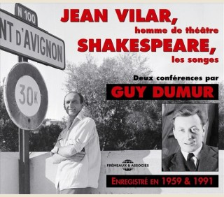 JEAN VILAR, HOMME DE THEATRE - WILLIAM SHAKESPEARE, LES SONGES