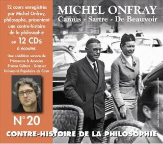 MICHEL ONFRAY - CONTRE HISTOIRE DE LA PHILOSOPHIE VOL  20