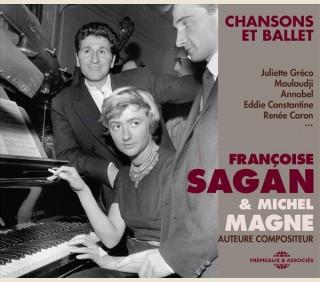 FRANÇOISE SAGAN & MICHEL MAGNE