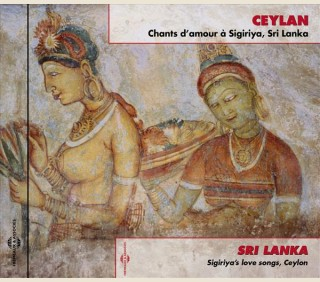 CEYLAN CHANTS D'AMOUR À SIGIRIYA, SRI LANKA