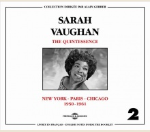 SARAH VAUGHAN - QUINTESSENCE VOL 2