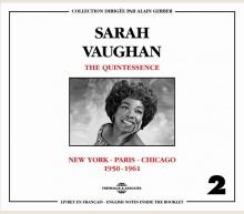 SARAH VAUGHAN - QUINTESSENCE VOL 2