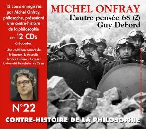 MICHEL ONFRAY - CONTRE HISTOIRE DE LA PHILOSOPHIE VOL 22