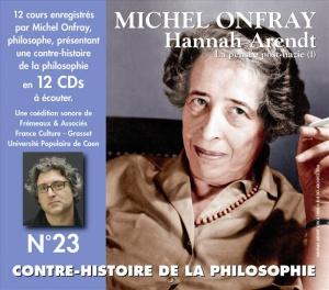 MICHEL ONFRAY - CONTRE-HISTOIRE DE LA PHILOSOPHIE VOL. 23