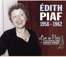 EDITH PIAF - LIVE IN PARIS 1958-1962