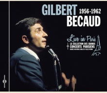 GILBERT BECAUD - LIVE IN PARIS 1956-1962