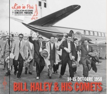 BILL HALEY - LIVE IN PARIS - 14-15 OCTOBRE 1958