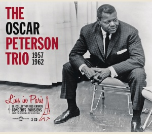 THE OSCAR PETERSON TRIO - LIVE IN PARIS - 1957-1962