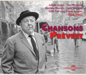 CHANSONS DE JACQUES PREVERT 1934-1962