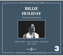 THE QUINTESSENCE VOL 3 NEW YORK, L.A., ... 1947-1959