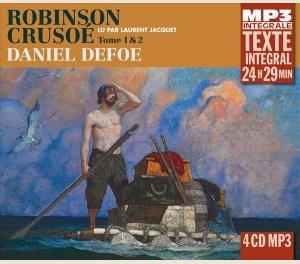 ROBINSON CRUSOÉ - DANIEL DEFOE - INTEGRALE MP3