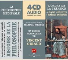 HISTOIRE DE LA PHILOSOPHIE VOL 4 - L'ORDRE DE LA CREATION