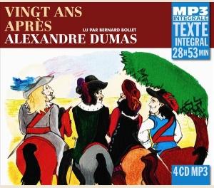 ALEXANDRE DUMAS- VINGT ANS APRÈS - INTEGRALE MP3
