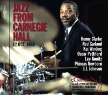 JAZZ FROM CARNEGIE HALL -  LIVE IN PARIS 1ER OCT. 1958