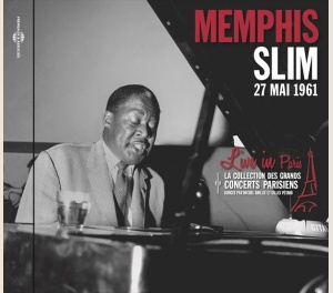 MEMPHIS SLIM - LIVE IN PARIS