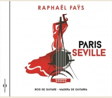 PARIS SEVILLE - BOIS DE GUITARE / MADERA DE GUITARRA
