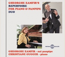 GHEORGHE ZAMFIR'S REPERTOIRE FOR PIANO & PANPIPE DUO