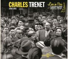 CHARLES TRENET LIVE IN PARIS - 1956-1961