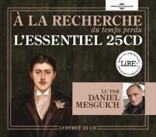 MARCEL PROUST - À LA RECHERCHE DU TEMPS PERDU - L'ESSENTIEL EN 25CD
