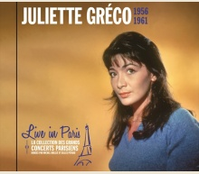 JULIETTE GRÉCO - LIVE IN PARIS